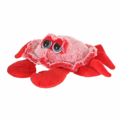 Giftable World A15097 9 in. Plush Crab - Red Perspective: front