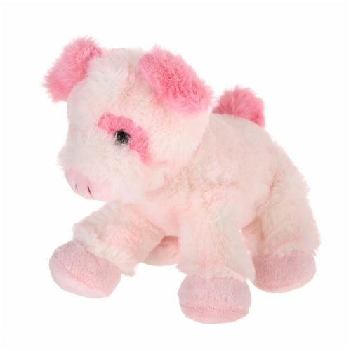 Giftable World A00051 7 in. Plush Lying Pig Perspective: front