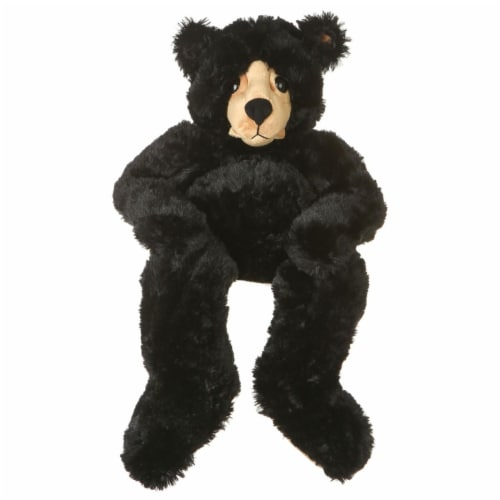 Giftable World B01020 48 in. Plush Bear - Black Perspective: front
