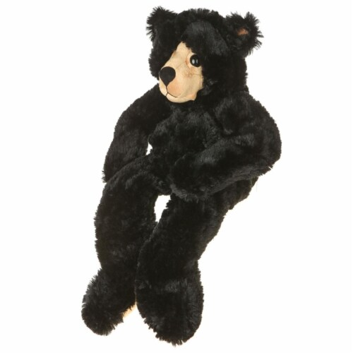 Giftable World B01001 25 in. Plush Bear - Black Perspective: front