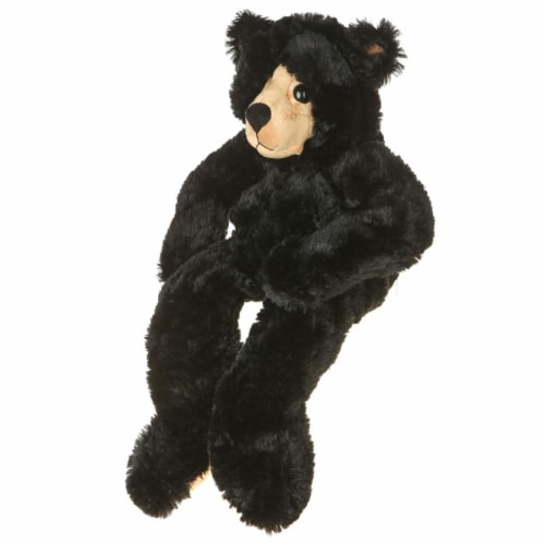 Giftable World B01002 19 in. Plush Bear - Black Perspective: front