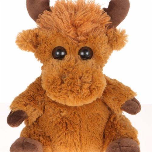 Giftable World A00033 10.5 in. Plush Mop Tops Moose Perspective: front
