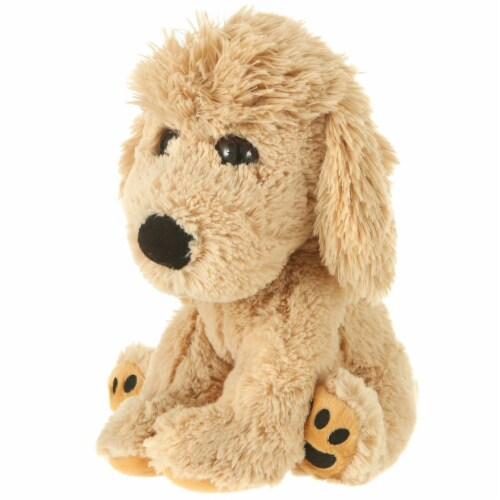 Giftable World S00028 7 in. Plush Mop Top Dog Perspective: front