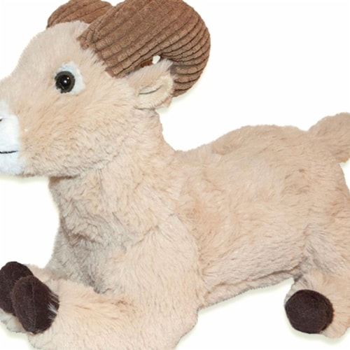 Giftable World A08055 10.5 in. Plush Ram Sitting Perspective: front