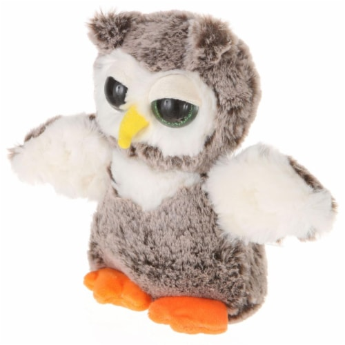 Giftable World A00063 7 in. Big Eyes Standing Owl Perspective: front