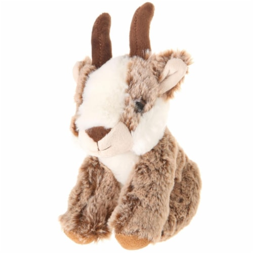 Giftable World A00054 7 in. Plush Big Eyes Quating Antelope Perspective: front