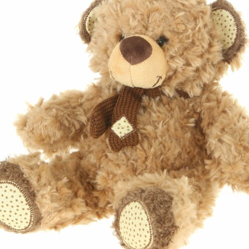Giftable World A01002 13 in. Plush Bear - Light Brown Perspective: front