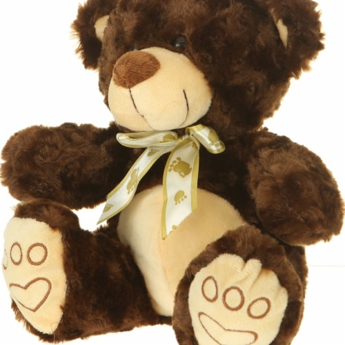 Giftable World A01012 10 in. Plush Bear - Brown Perspective: front