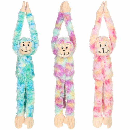 Giftable World A08071 18 in. Plush Long Arms Monkey - 3 Assorted Color Perspective: front