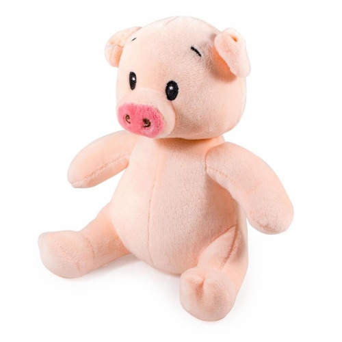 Giftable World S00046 7 in. Plush Pig Perspective: front