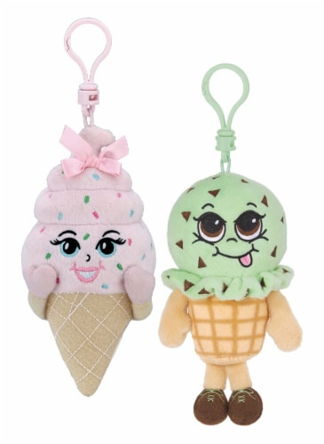 Whiffer Sniffer  May B. Minty & Shirly Cone Scented Backpack Clip Combo Pack Perspective: front