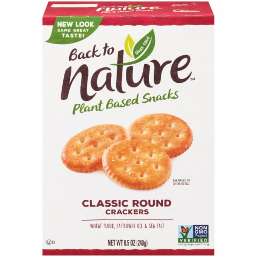 Back to Nature Classic Round Crackers Perspective: front