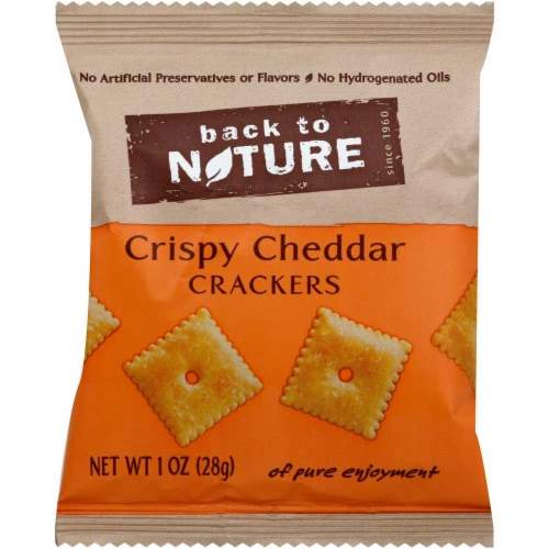 Back To Nature Crispy Wheat Cracker, 1 Ounce -- 100 per case. Perspective: front