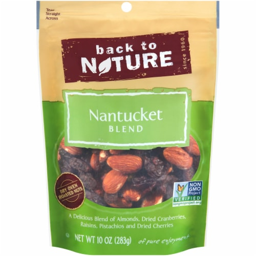 Back to Nature Nantucket Blend Trail Mix Perspective: front