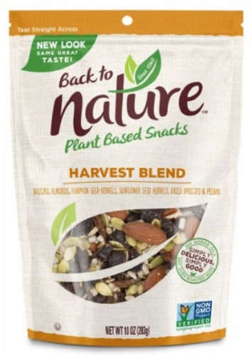 Back to Nature Harvest Blend Trail Mix Perspective: front