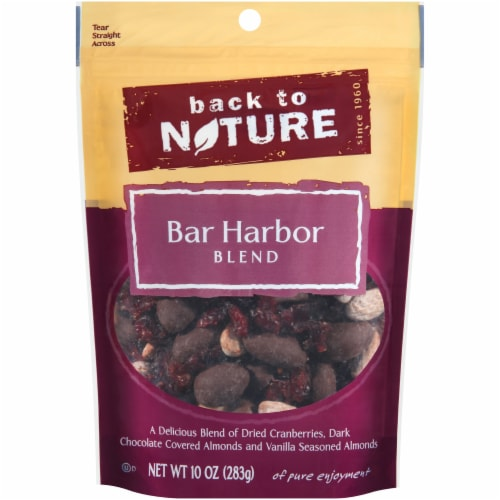Back To Nature Bar Harbor Trail Mix Perspective: front