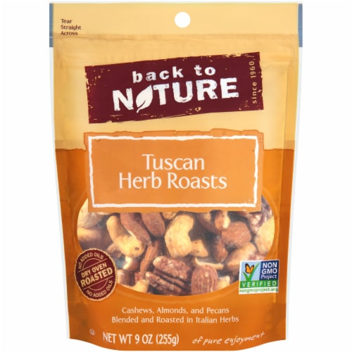 Back To Nature Tuscan Herb Roasted Nut Mix Perspective: front
