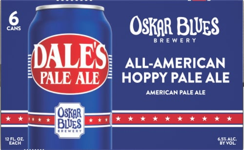 Oskar Blues Brewery Dales Pale Ale Perspective: front