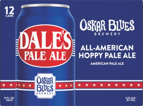 Oskar Blues Brewery Dale's Pale Ale Perspective: front