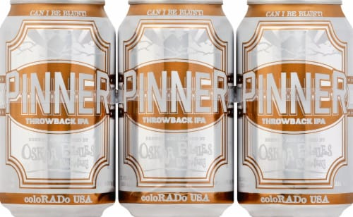 Oskar Blues Brewery Pinner IPA Perspective: front