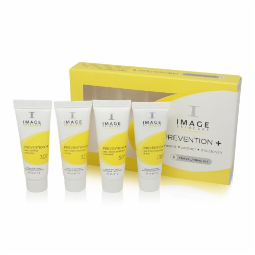 IMAGE Skincare Hand & Body Prevention + Trial Kit Lotion Perspective: front