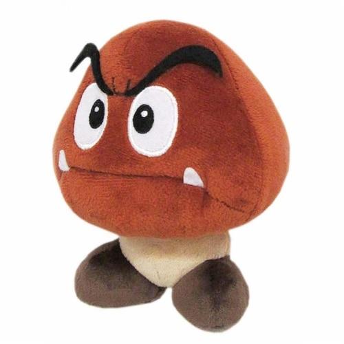 Nintendo 46192 Nintendo 6 in. Super Mario Bros Goomba Plush Doll Perspective: front