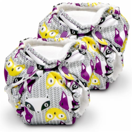 Kanga Care Lil Joey Cloth Diaper (2pk) Bonnie Perspective: front