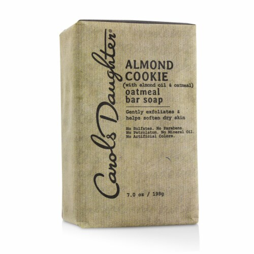 Carol's Daughter Almond Cookie Oatmeal Bar Soap 198g/7oz Perspective: front