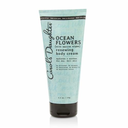 Carol's Daughter Ocean Flowers Renewing Body Cream 170g/6oz Perspective: front
