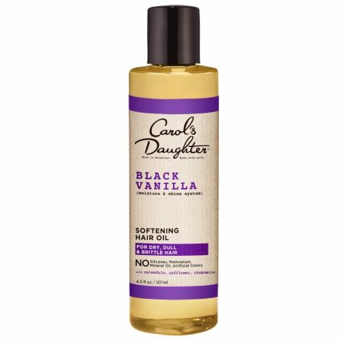 Carol's Daughter Black Vanilla Pure Hair Oil Perspective: front