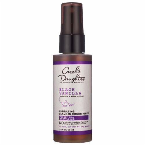Carol's Daughter Black Vanilla Hydrating Leave-In Conditioner Perspective: front
