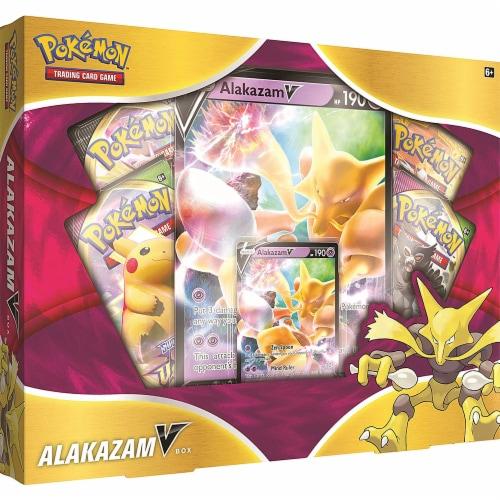 Pokemon Trading Card Game Alakazam V Box Perspective: front