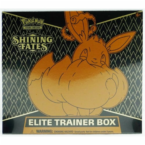 Pokemon™ Shining Fates Elite Trainer Box Trading Card Game Perspective: front