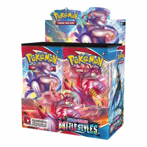 Pokemon Sword And Shield Battle Styles Boost Pack (1 Pack) Perspective: front
