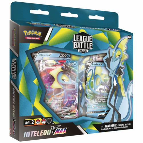 Pokemon™ Inteleon VMAX League Battle Deck Trading Card Game Perspective: front