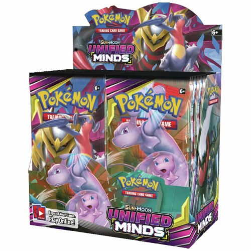 Pokemon: SM11 Unified Minds Booster Perspective: front
