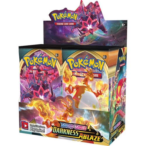 Pokemon: SS3 Darkness Ablaze Booster Perspective: front