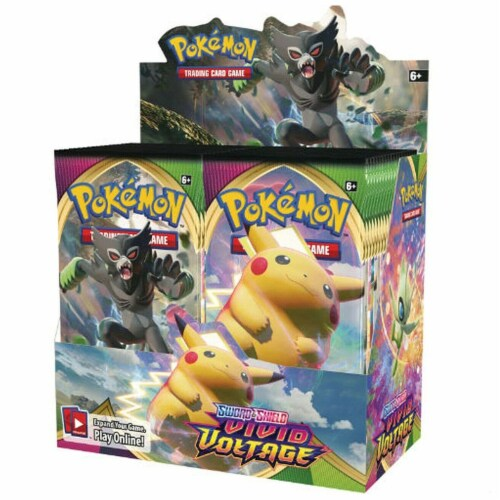 Pokemon: SS4 Vivid Voltage Booster Perspective: front