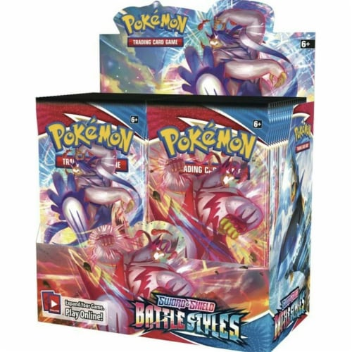 Pokemon: SS5 Battle Style Booster Perspective: front