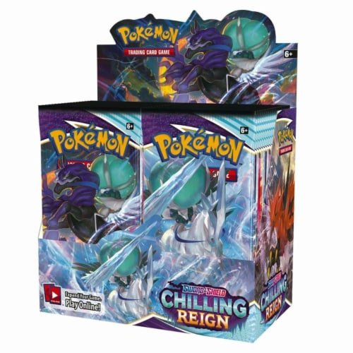 Pokemon: SS6 Chilling Reign Booster Perspective: front