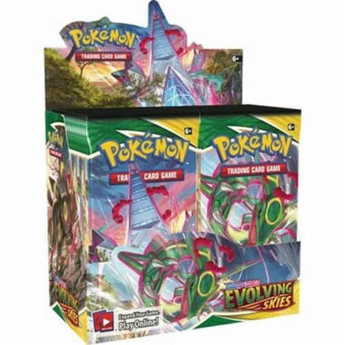 Pokemon: SS7 Evolving Skies Booster Perspective: front