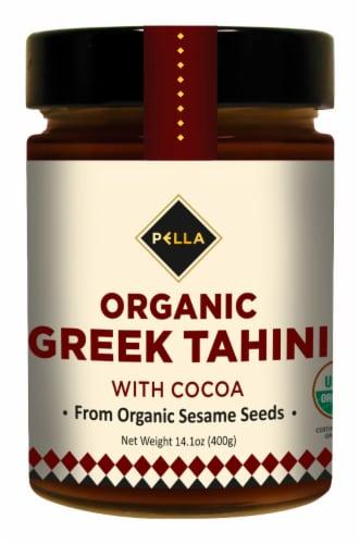 Pella Organic Greek Tahini With Cocoa Perspective: front