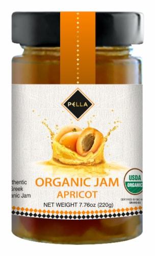Pella Organic Apricot Jam Perspective: front