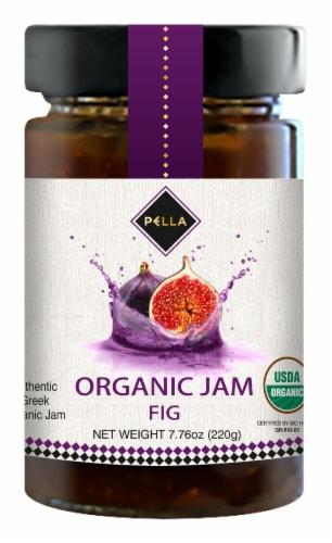 Pella Organic Fig Jam Perspective: front