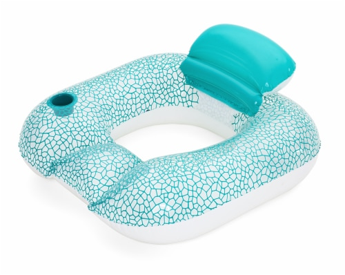 H2OGO!™ Flip Pillow Lounge - Turquoise Perspective: front