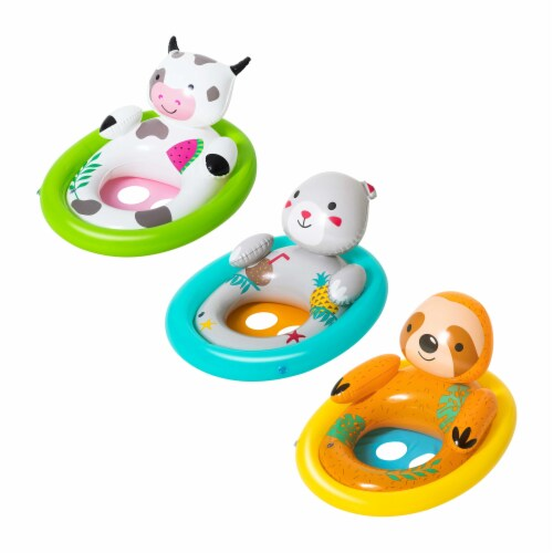 H2OGO!™ Lil' Animal Pool Floats - Assorted Perspective: front