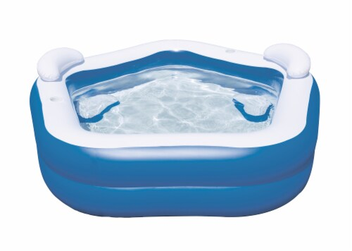 H2OGo!™ Family Fun Pool - Blue/White Perspective: front