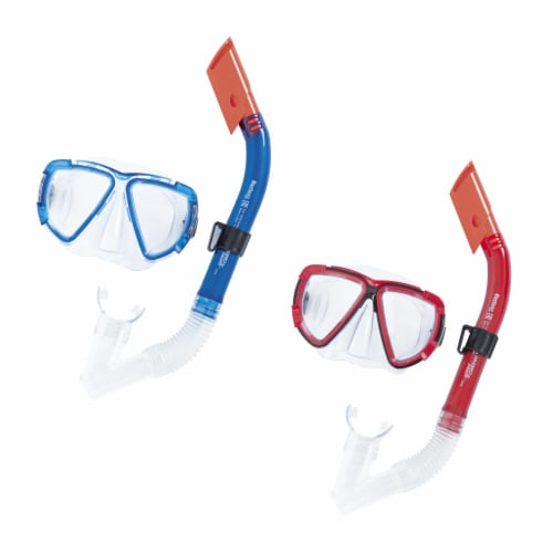 Bestway Hydro-Swim Blackstripe Adult Snorkel Set - Assorted Perspective: front