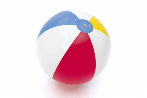 Bestway H2O Go! Inflatable Beach Ball Perspective: front