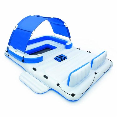 Bestway CoolerZ Tropical Breeze Floating Island Pool Raft Perspective: front